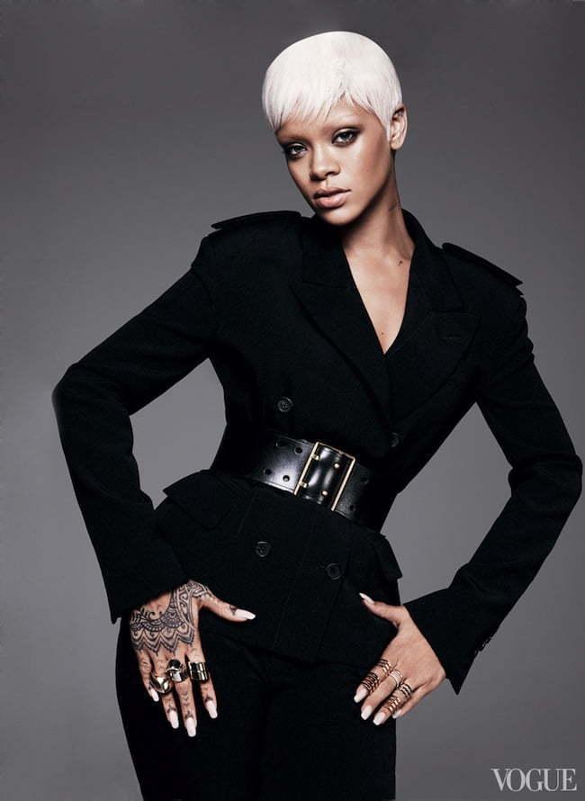 Rihanna vogue 2014 2