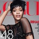 Rihanna vogue 2014 cover