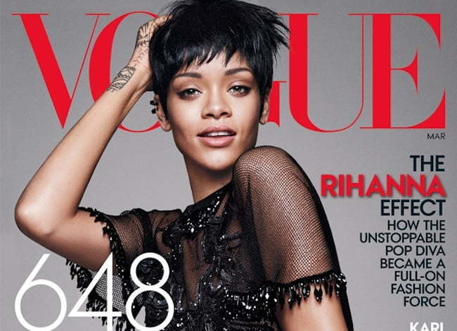 Rihanna vogue 2014 cover