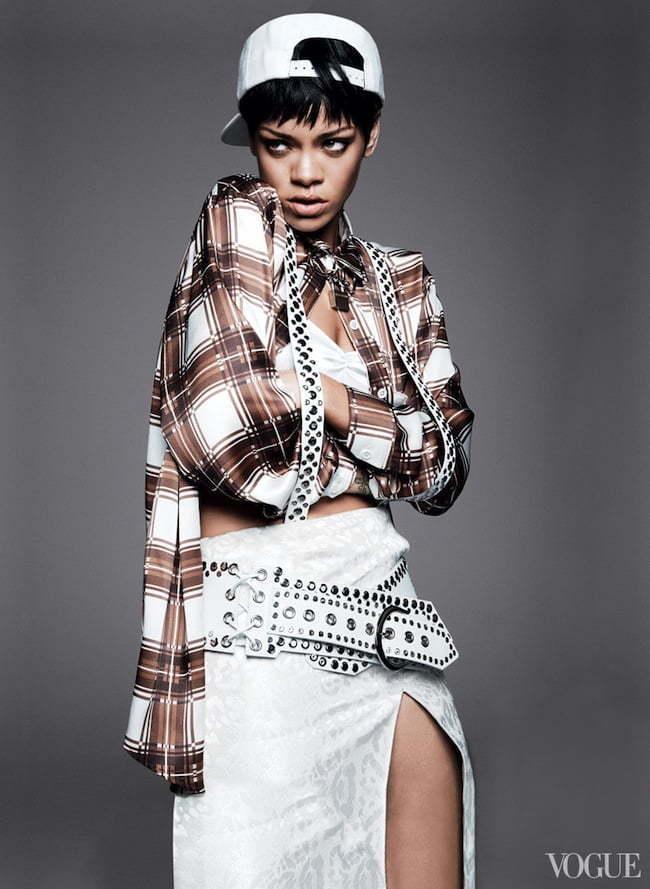 Rihanna vogue 3