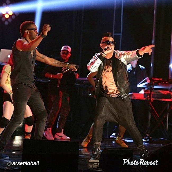 Sean Paul and Konshens on Arsenio Hall show