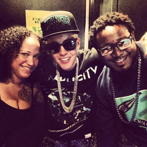 T-Pain and Justin Bieber