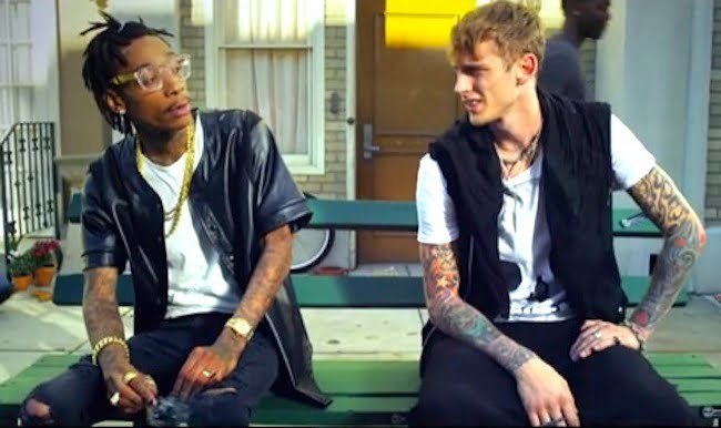 Wiz Khalifa and Machine Gun Kelly