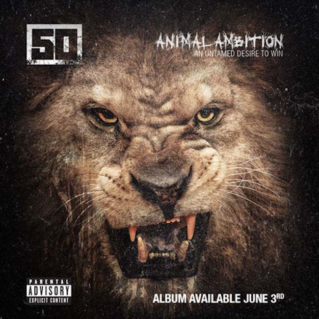 50 Cent Animal Ambition Cover art