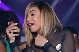 Ashanti And Nelly Facetime At Her Album Release Party [VIDEO]