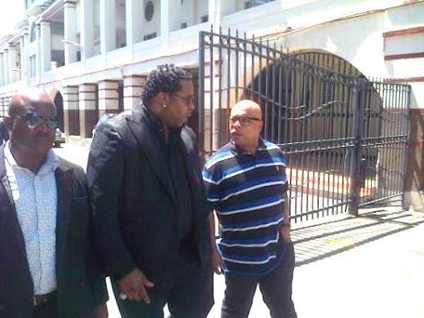 Busta Rhymes at Kartel trial