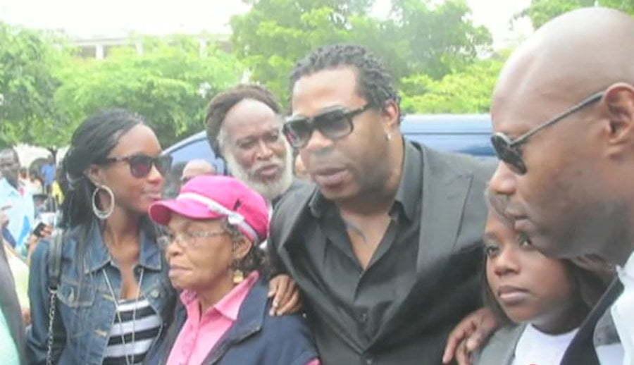 Busta Rhymes in Jamaica