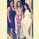 Ciara La La and Kim Kardashian