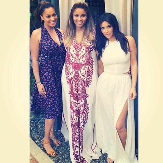 Ciara La La and Kim Kardashian