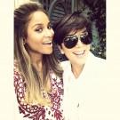 Ciara and Kris Jenner