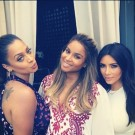 Ciara la la and Kim Kardashian 1