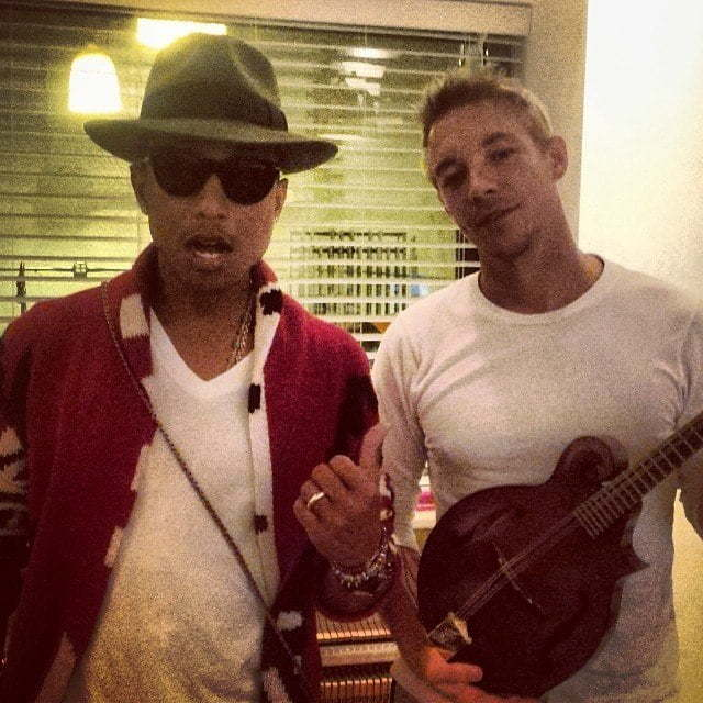 Diplo and Pharrell Williams