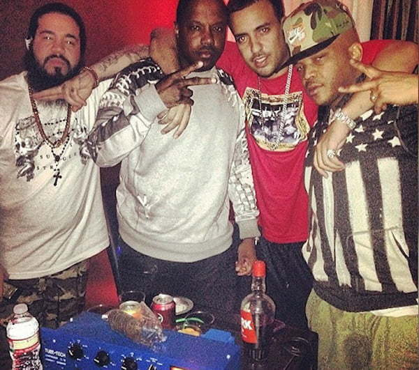 Mase and French Montana