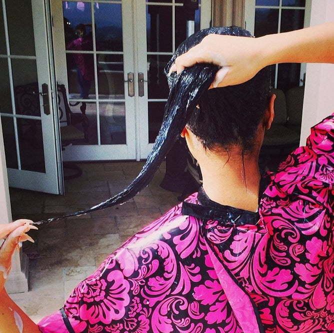 Nicki real hair