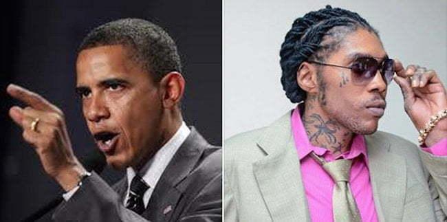 President Obama and Vybz Kartel