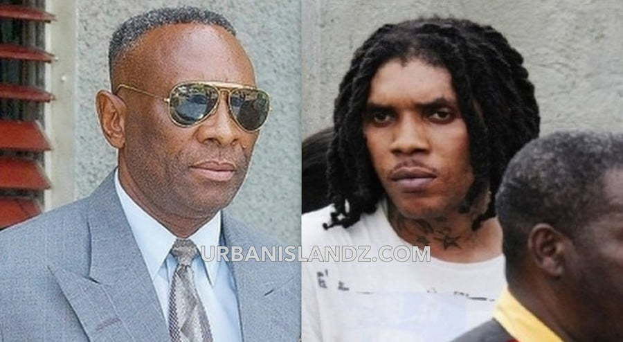 Reneto Adams and Vybz Kartel