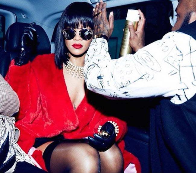 Rihanna PFW 2014 3