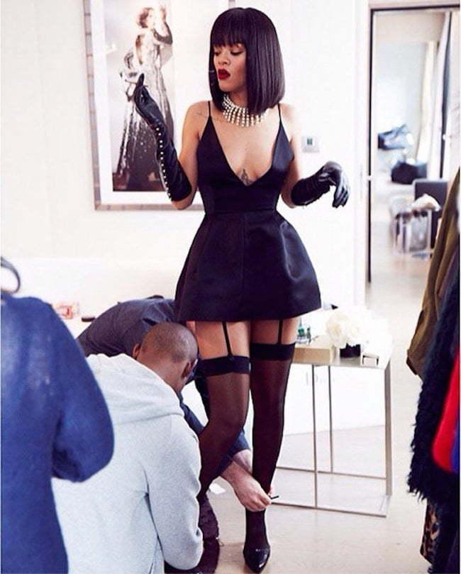 Rihanna PFW 2014 4