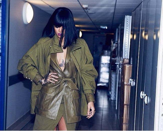 Rihanna PFW 2014 8