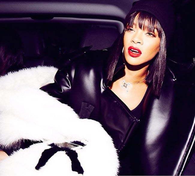 Rihanna PFW 2014