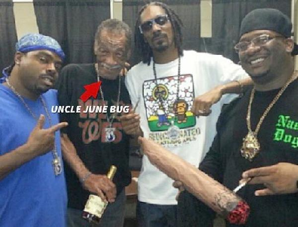 Snoop Dogg and Uncle June Bug