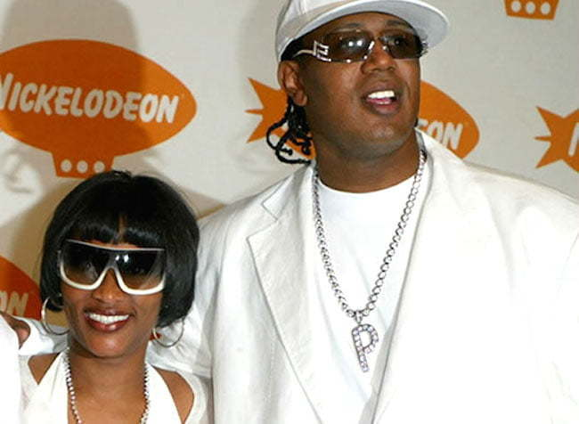 Sonya Miller and Master P