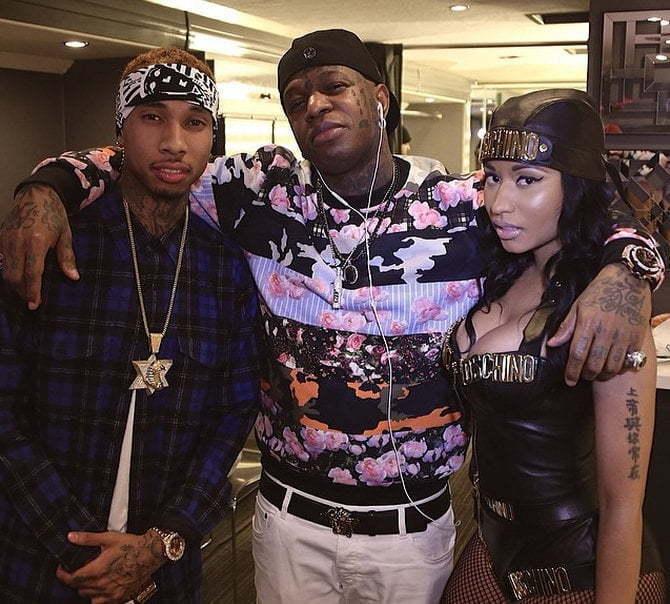 Tyga Birdman Nicki Minaj