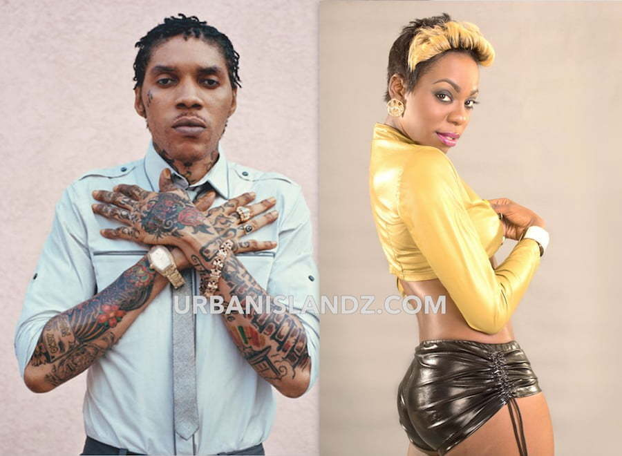 Vybz Kartel and J Capri