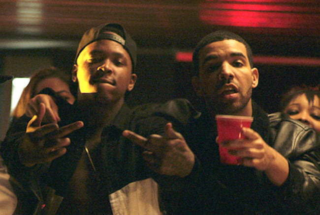 YG and Drake video
