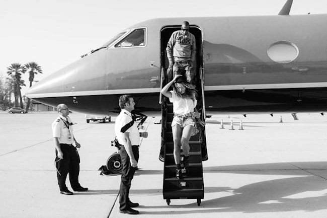 Beyonce and Jay Z at Coachella 1
