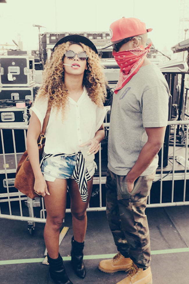 Beyonce and Jay Z at Coachella