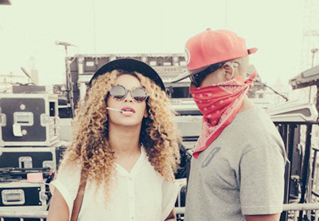Beyonce and Jay Z at Coachella