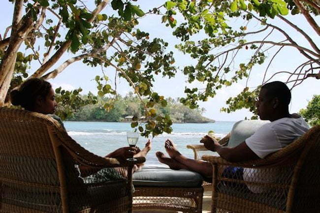 Beyonce and Jay Z in Dominica
