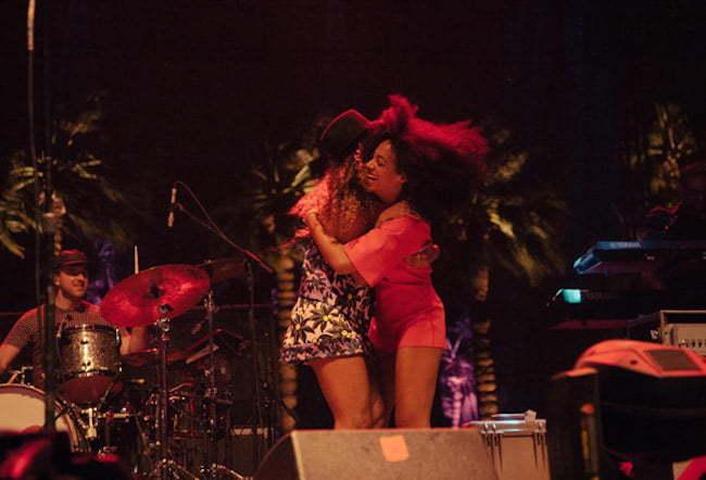 Beyonce and Solange Coachella