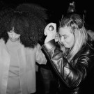 Beyonce and Solange at Coachella 1