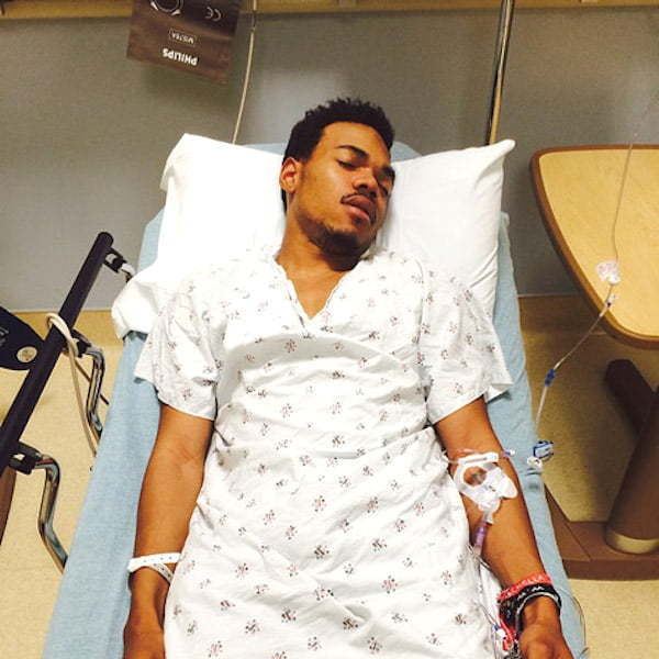 Chance The Rapper hospitalize