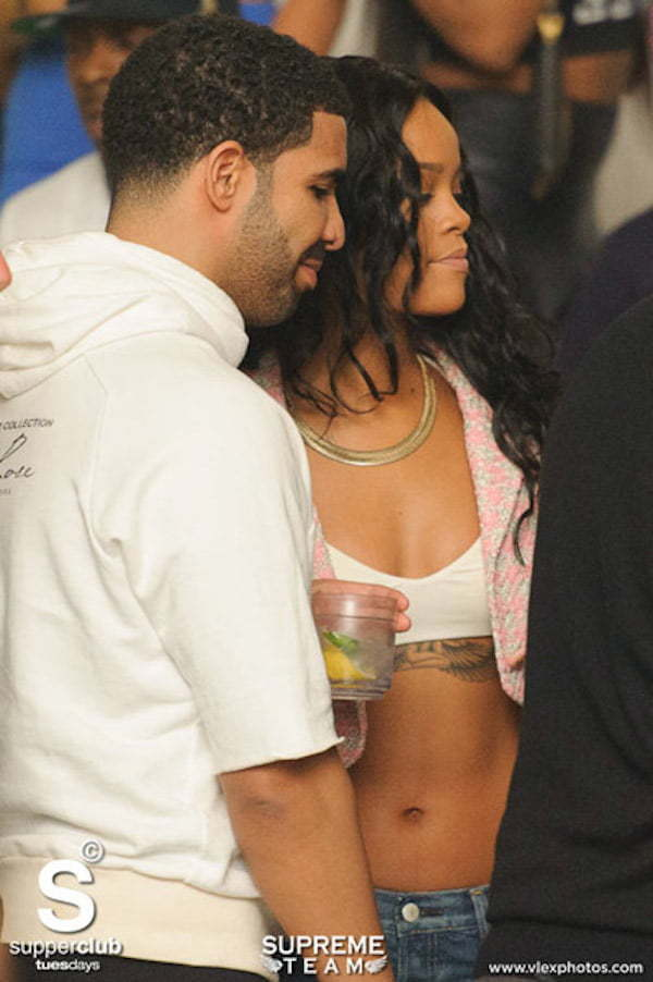 Drake and Rihanna Super Club