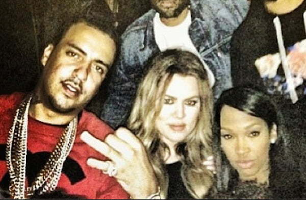 Khloe and French Montana