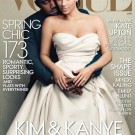 Kim and Kanye West Vogue Cover