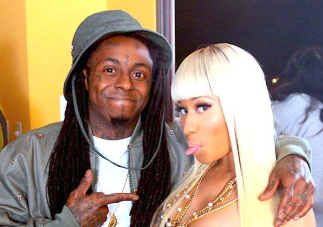 Lil Wayne and Nicki Minaj 2014
