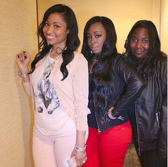 Nicki Minaj Micaiah Bday bash 7