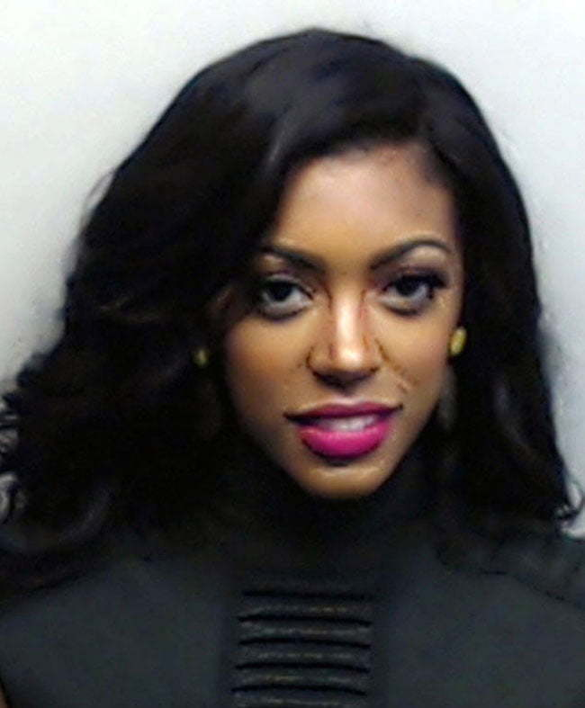Porsha Williams turns herself in to police
