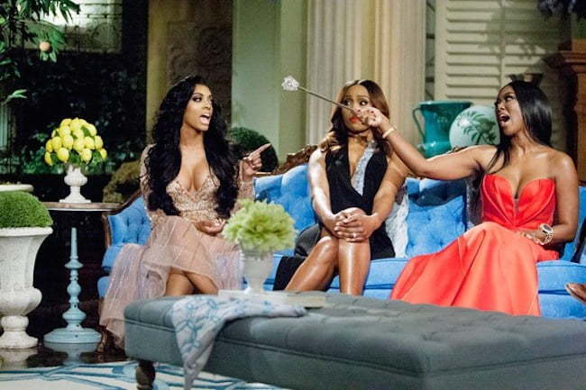 Real Housewives Of Atlanta: Porsha Vs Kenya Fight [Full Video]