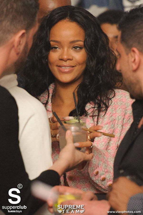 Rihanna at Super Club