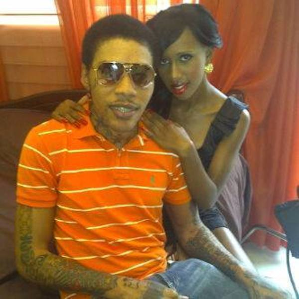 Vybz Kartel and Gaza Slim photo