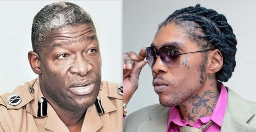 Vybz Kartel and Owen Ellington