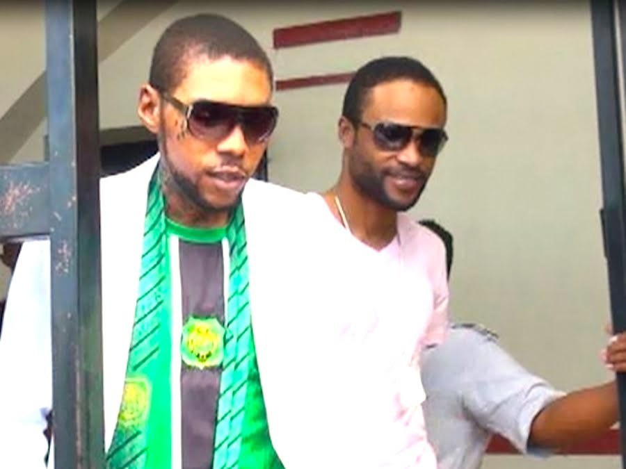 Vybz Kartel and Shawn Storm photo