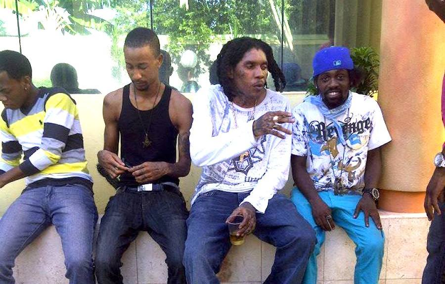 Vybz Kartel With Friends Discussing Murdering People In Church & Demon