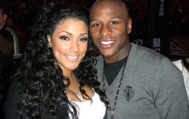 Floyd Mayweather and ex fiancee