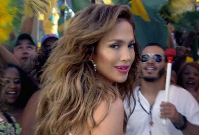JLO World Cup video